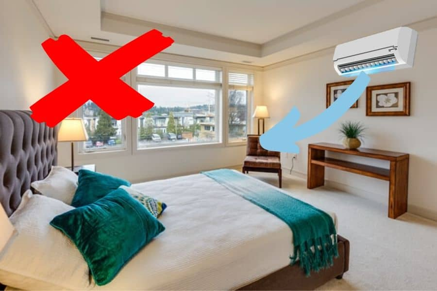 Best Place To Install Split Air Conditioner In Bedroom Aircondlounge