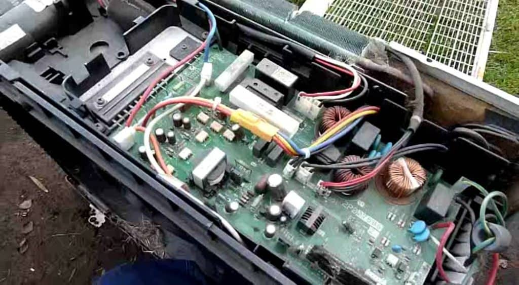 PCB of an AC outdoor unit