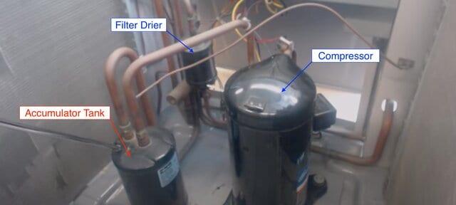 condenser unit components